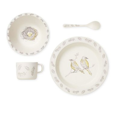 Cam Cam Copenhagen Kinderservies Birds Bamboe