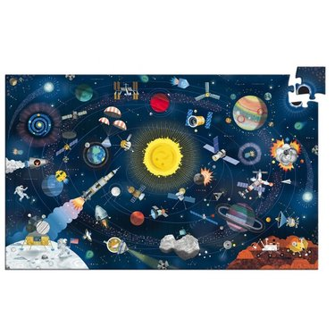 DJECO Puzzel Observation Space 6 jr+