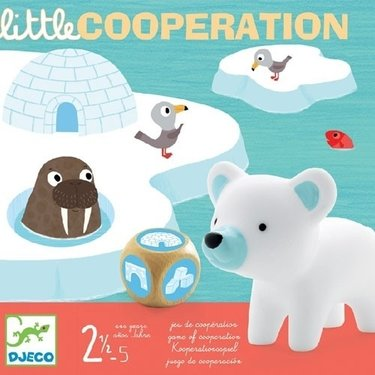 DJECO Little Cooperation bordspel