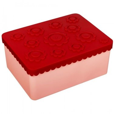 Blafre Lunchbox Flower Rood