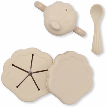 Konges Slojd Babyservies Siliconen Clam Set Shell