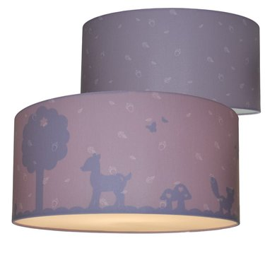 Plafondlamp Silhouet Forest Friends Bark