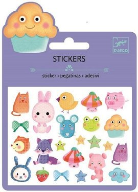Djeco Stickers Puffy Kawaii