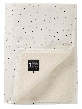 Mies & Co soft teddy deken Adorable Dot
