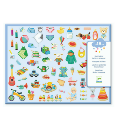 DJECO Stickerset My Little World