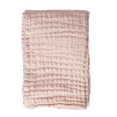 Mies & Co Wiegdeken Mousseline Soft Pink