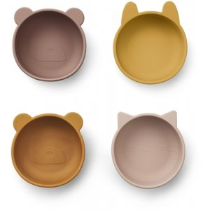 Liewood iggy siliconen snack bowls rose mix