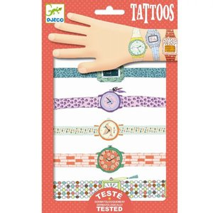 DJECO kindertattoos wendy's horloges