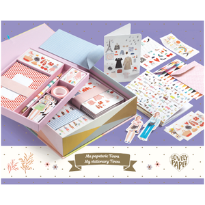 Djeco paper lovers stationary set