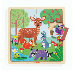 DJECO Puzzel forest