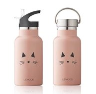 LIEWOOD water bottle cat rose thermosfles