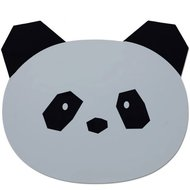 LIEWOOD placemat Panda dumbo grey